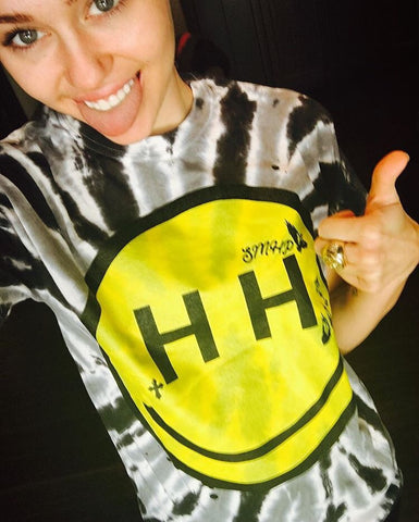 Miley/Trace Happy Hippie Foundation colab T