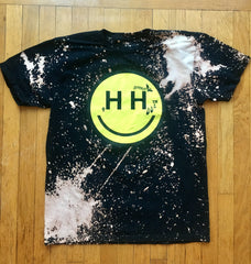 SMHP/Happy Hippie Hand Bleached Collab Tee