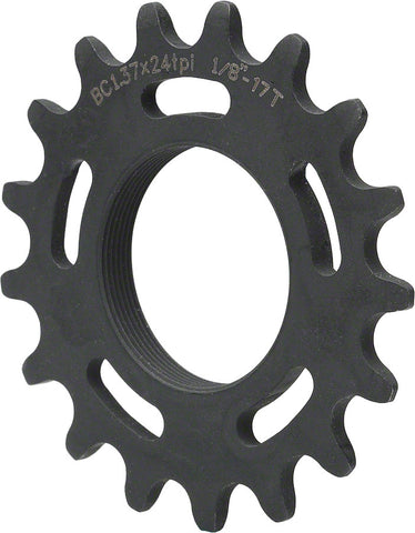 All City Chromoly 1/8th Track Cog BLACK