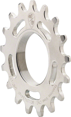 All City Chromoly 1/8th Track Cog stainless