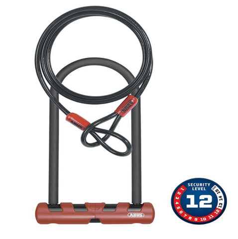 Abus Ultimate 420 U-Lock + Loop Cable