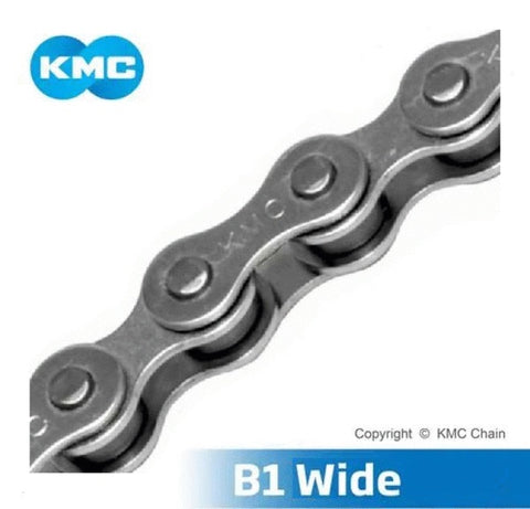 KMC B1 Wide 1sp 1/8 Chain Silver