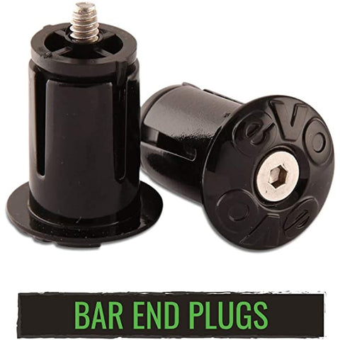 EVO Bar Tape End Plugs