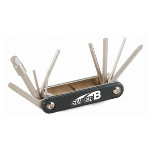 Super B 10 in 1 Folding Multi-tool TB9625
