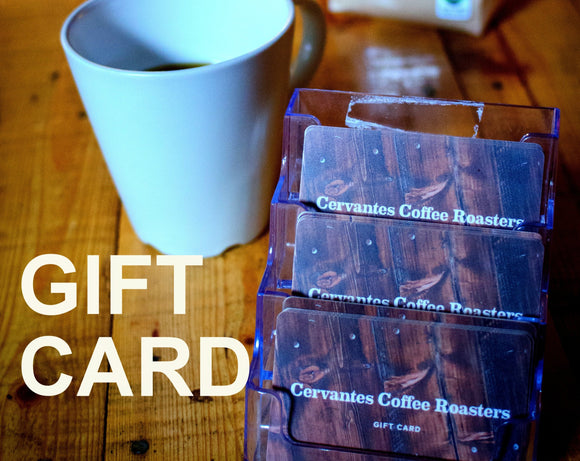 Cervantes Coffee Gift Card