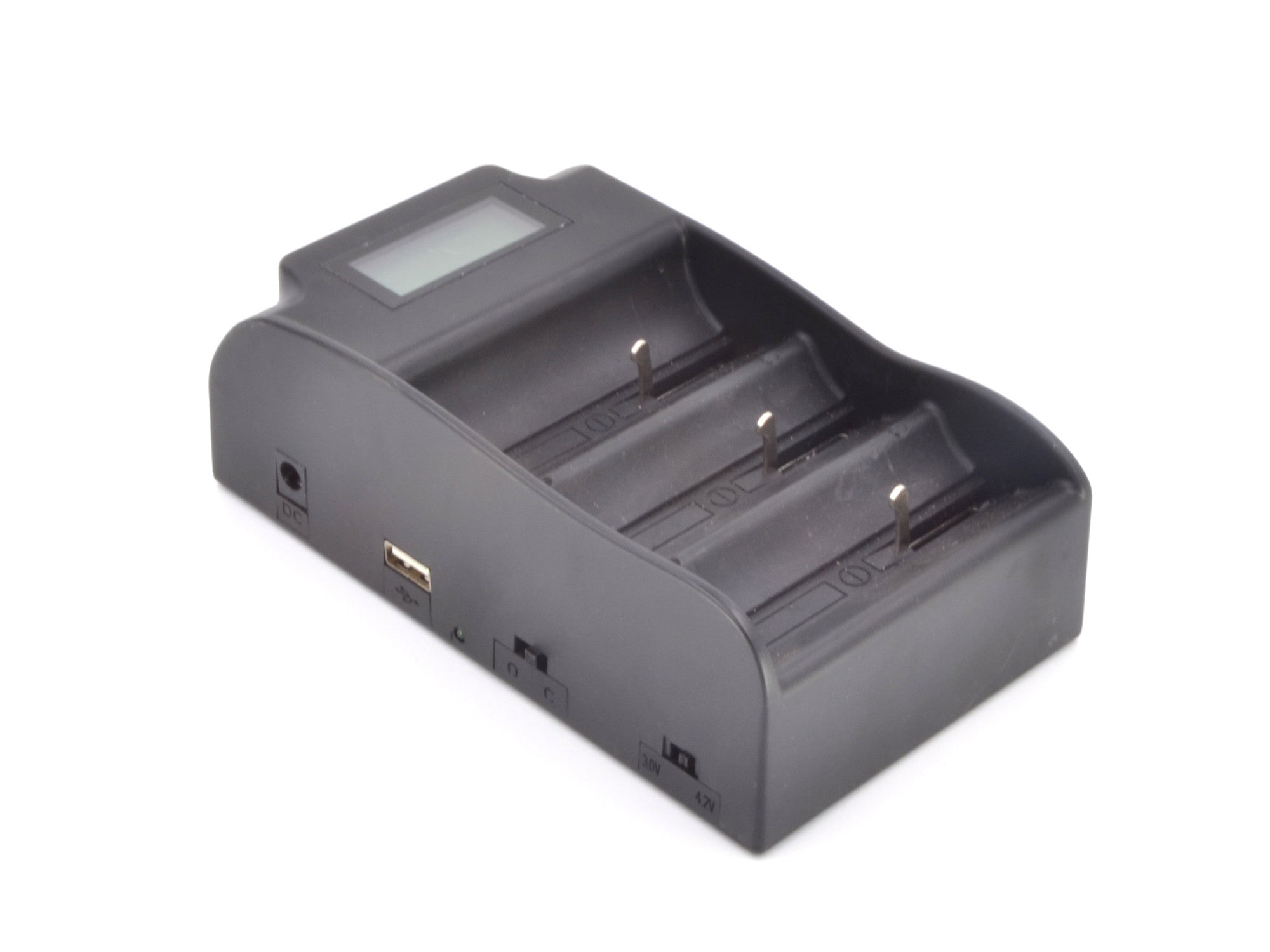 Triple Bay Smart Battery Charger for 26650 Batteries