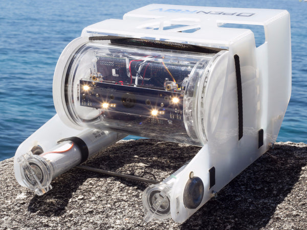 OpenROV is a Mini ROV, an underwater robot for exploring the ocean.
