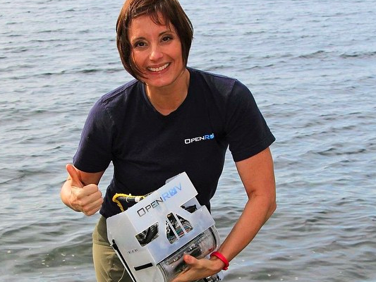 T-shirt with OpenROV logo