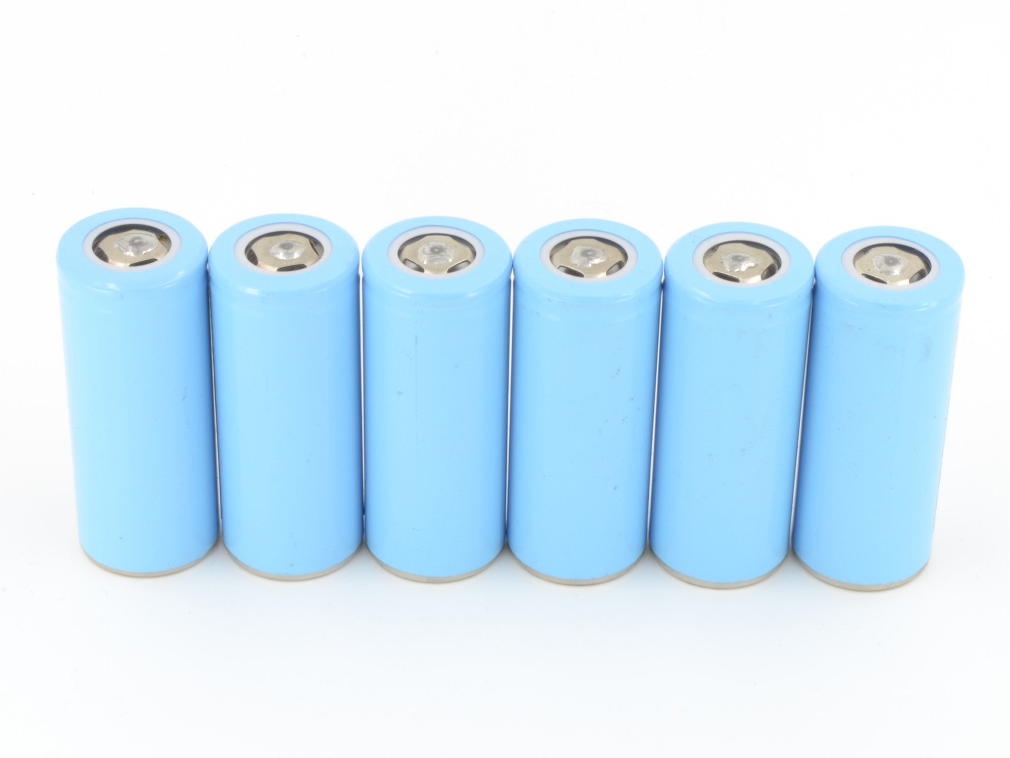 6 rechargeable high capacity Li-NiMnCo Batteries to power OpenROV