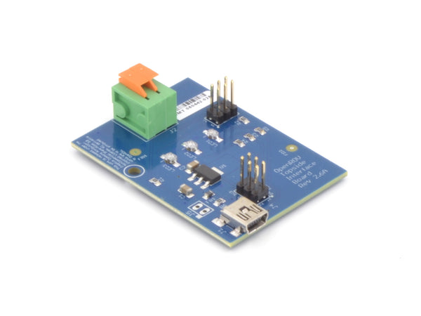 Topside interface board for piloting underwater drone