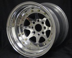 Star 8 Wheels 15x7 To 15x12 , 4x100, 4 or 5 Inch Back Spacing