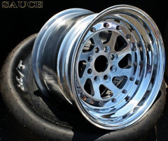 Nitro Blade Wheels  15x7 To 15x12 ,  4x100,  4 or 5 Inch Back Spacing .