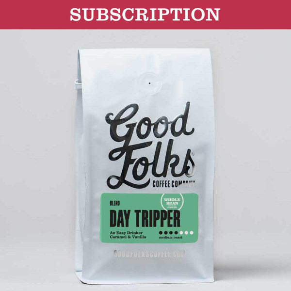 Coffee - Day Tripper Medium Roast - Subscription