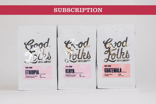 Coffee - Single Origin - Subscription