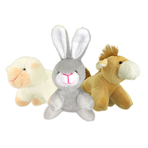 Petsport Tiny Tots Barn Buddies Plush Assorted 10 cm