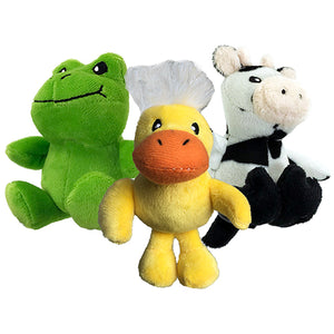 Petsport Tiny Tots Nuzzle Buddies Plush Assorted 10 cm