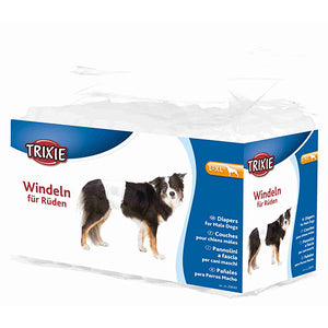 Trixie Diapers for Male Dogs, Disposable