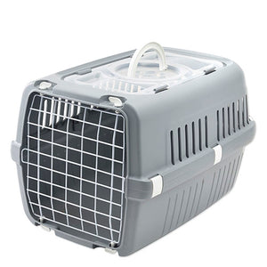 Savic Zephos 2 Open Pet Carrier Grey (Max Load 7Kg)