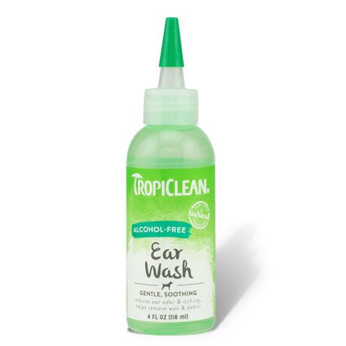 Tropiclean Alcohol-Free Ear Wash 118 ml