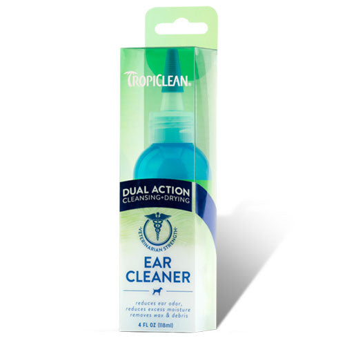 Tropiclean Dual Action Ear Cleaner for Pets 118 ml