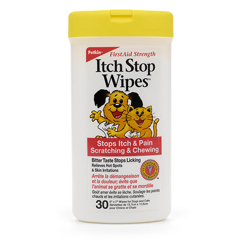 Petkin Itchwipes 30 wipes