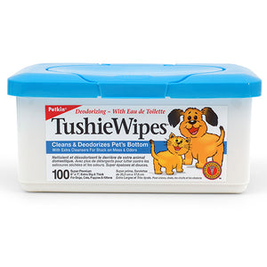 Petkin Tushiewipes 100 wipes
