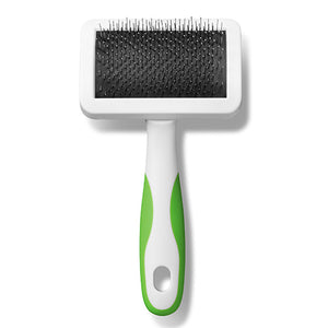 Andis Medium Firm Slicker Brush Lime Green