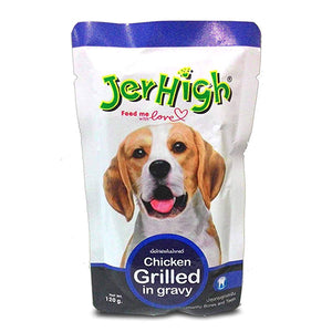 Jer High Chicken Grilled in Gravy(120gms, pack of 12)