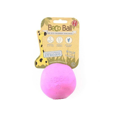 BECO RUBBER TREAT BALL
