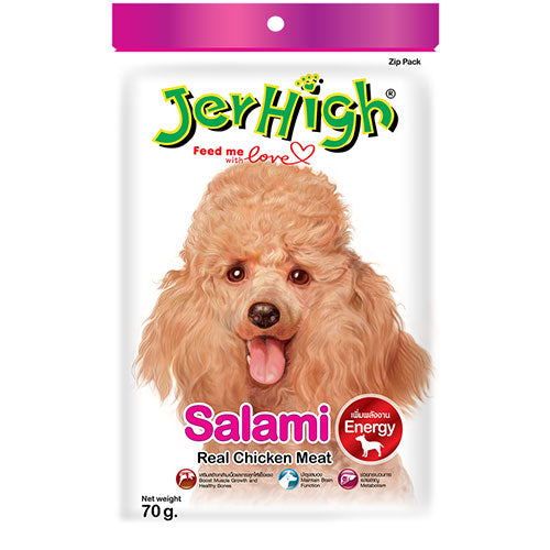 JER HIGH Chicken salami stick 75gms