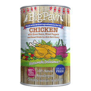 LITTLE BIG PAW - CHICKEN AND SWEET POTATO - (390 G PACK OF 12)
