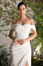 Load image into Gallery viewer, ARIZA | Off Shoulder Minimalist Wedding Gown - Wedding Dress Envious Bridal & Formal