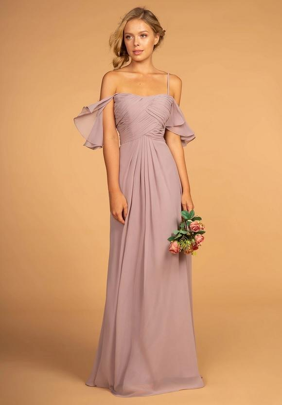 AVIS | Flutter Sleeve Chiffon Bridesmaid Dress - All Products Envious Bridal