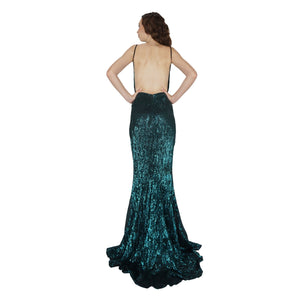 Emerald Sequin Evening Dresses Perth Envious Bridal & Formal