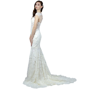 Vintage Style Lace Fit And Flare Wedding Dresses Perth Envious Bridal & Formal