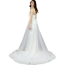 Load image into Gallery viewer, Simple Wedding Dress With Detachable Skirt Envious Bridal & Formal