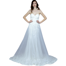 Load image into Gallery viewer, Shimmer Wedding Dress With Detachable Skirt Envious Bridal & Formal