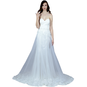 Strapless Wedding Dress With Detachable Skirt Envious Bridal & Formal