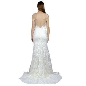Thick Strap Sheer Bodice Mermaid Wedding Gowns Australia Online Envious Bridal & Formal