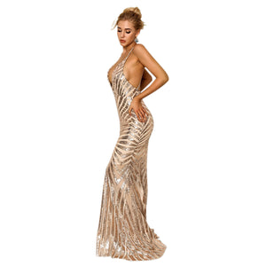 Rose Gold Sequin Evening Dresses Ball Dresses Perth Envious Bridal & Formal