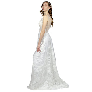 Sheath Lace Boho Wedding Bridal Dress Perth Envious Bridal & Formal