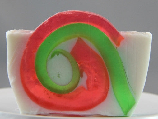 Candy Cane Loaf Soap