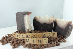 Chocolate Mint Loaf Soap