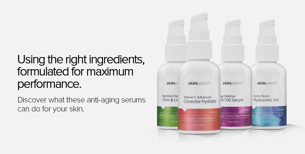 skinpatico antiaging serum collection