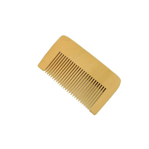 Boxwood Beard & Mustache Medium Tooth Pocket Comb
