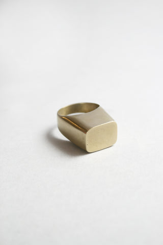 COVA RING (24k) - MUTTER METAL WORKS