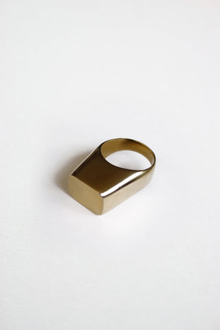 COVA RING (BRASS) - MUTTER METAL WORKS