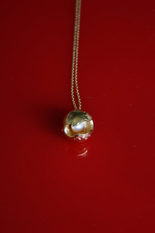 PEARL GIZMO NECKLACE - MUTTER