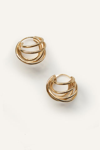 STACKED HOOPS (24K) - MUTTER