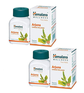Himalaya Arjuna 60 Tablets - Pack Of 2